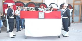 Şehit Polis Yılmaz DİKMEN'in Cenaze Töreni