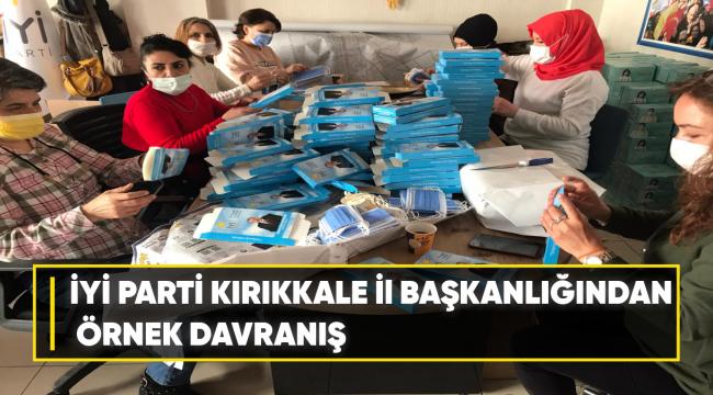 İYİ Parti Kırıkkale İl Başkanlığından Örnek Davranış