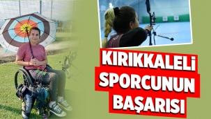 Kırıkkaleli Sporcunun Uluslararası Başarısı