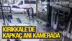 Kırıkkale'de Kapkaç Anı Kamerada