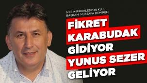 FİKRET KARABUDAK STADININ ADI DEĞİŞİYOR