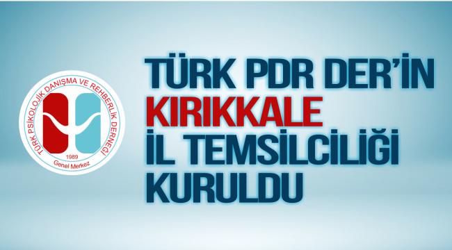 TÜRK PDR DER'in Kırıkkale İl Temsilciliği kuruldu.