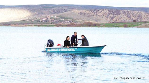 Balık avı yasaklandı!