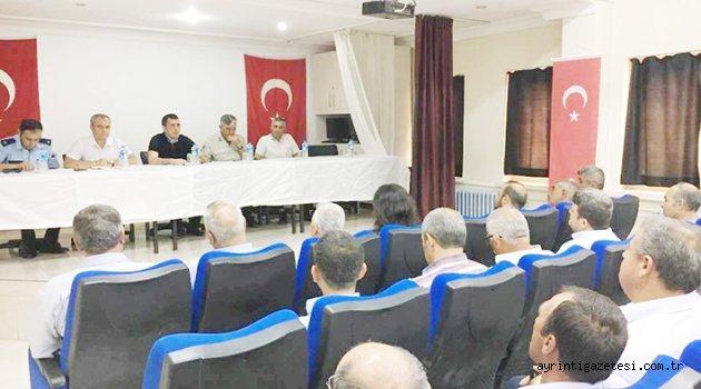 Balışeyh'te halk toplantısı