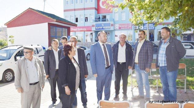 Başkan Dağdelen'den Sulakyurt'a ziyaret