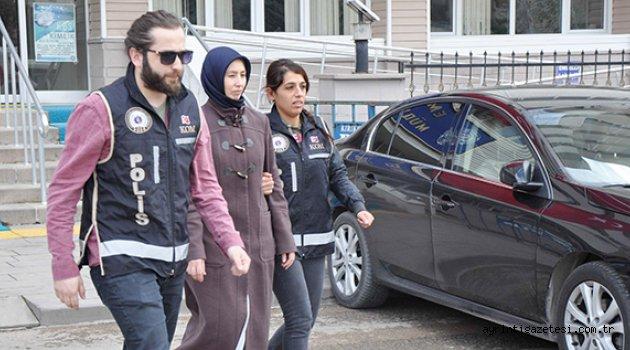 FETÖ'cü il ablası tutuklandı