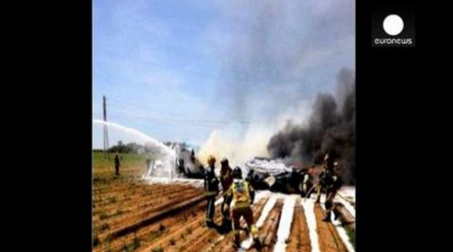İspanya'da Türkiye İçin Üretilen A400m Askeri Nakliye Uçağı Düştü