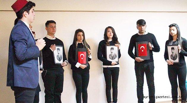 İstiklal Marşı etkinliği