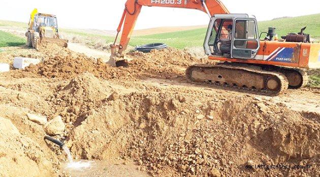 Karakeçili'de içme suyu çalışmaları