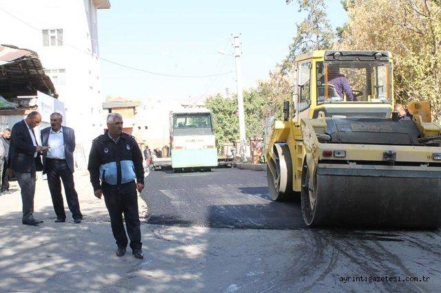 Keskin'de cadde sokaklar yenileniyor
