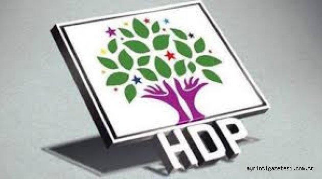 BUNLARDA HDP ADAYI
