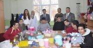 Engelli öğrencilerden üretime katkı