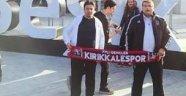 Vodafone Arena'da  Kırıkkalespor atkısı