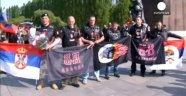 Rus Motosiklet Grubu 'Gece Kurtları' Berlin'de