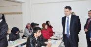 Kırıkkale'de Türkçe öğreniyorlar