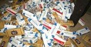 Yahşihan'da kaçak sigara ele geçirildi