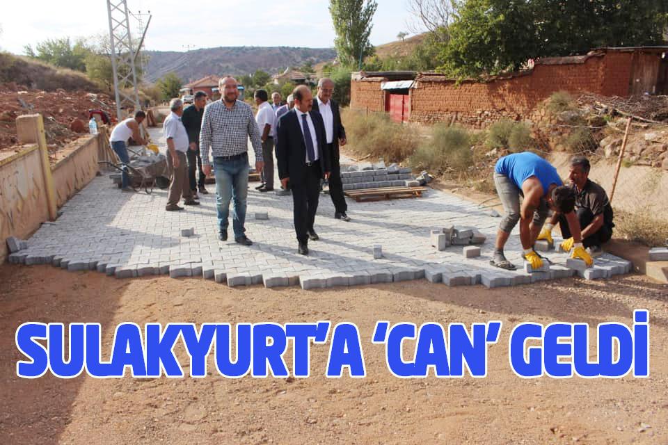 SULAKYURT'A 'CAN' GELDİ